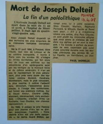Joseph Delteil, Pierre Mac Orlan, André Breton, Louis Aragon, Anatole France, Henri Miller,