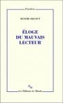 Maxime Decout, Montaigne, Sterne, Proust, Barthes