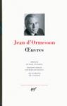 jean d'ormesson,